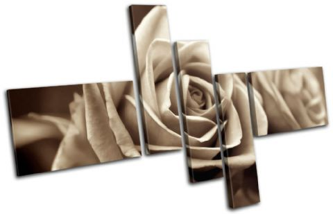 Rose Love Sepia Floral - 13-0009(00B)-MP18-LO